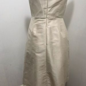 ALFRED SUNG Dresses - Alfred Sung strapless champagne cocktail dress